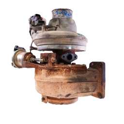 Mack Turbocharger - Late Style VGT With Electronics Attached